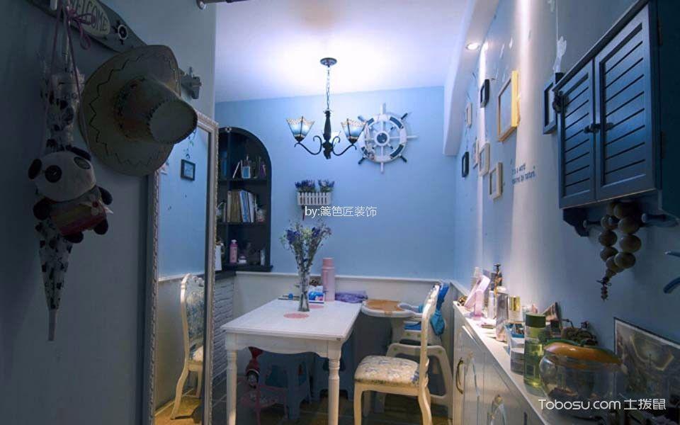 餐厅_75平二居室地中海风格装修效果图