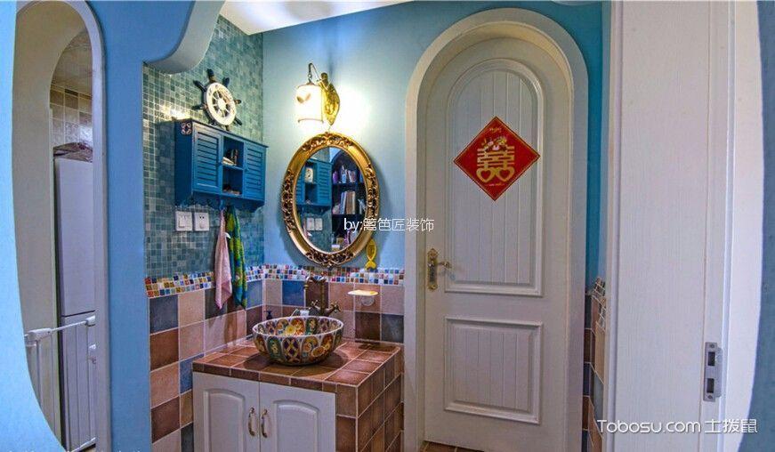 卫生间 洗漱台_7万预算75平米两室两厅装修效果图