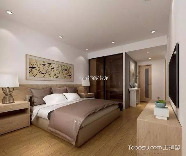 5.5万预算106平米三室两厅装修效果图