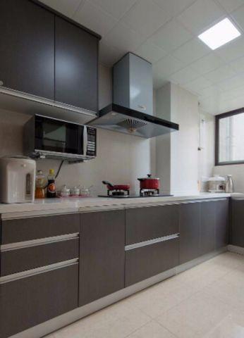 现代简约厨房PVC扣板吊顶装潢图片
