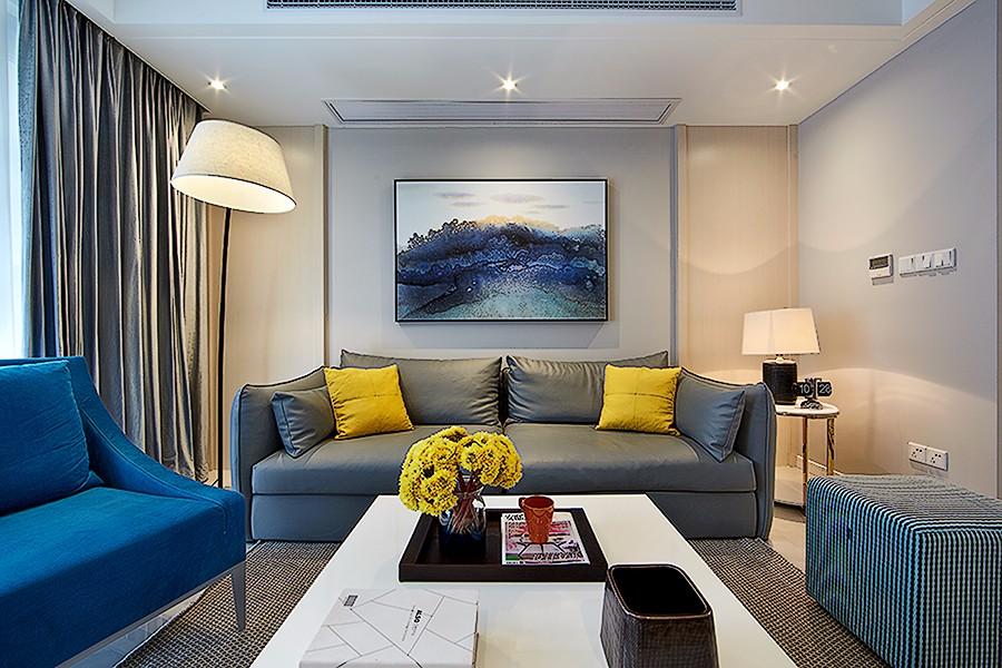 3室1卫2厅120平米简约风格