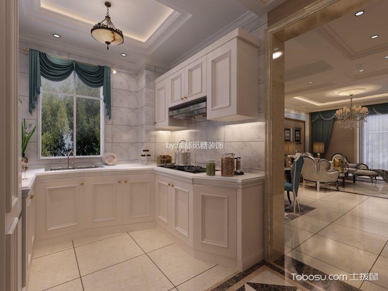 90平欧式一居室装修效果图