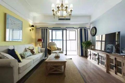 13万预算90平米两室两厅装修效果图