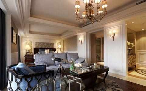 550平别墅美式风格装修效果图