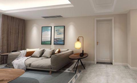 12万预算120平米三室两厅装修效果图