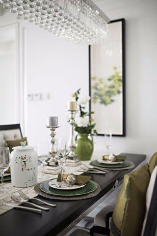 餐厅窗台现代简约风格效果图