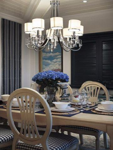 餐厅窗台地中海风格装修效果图