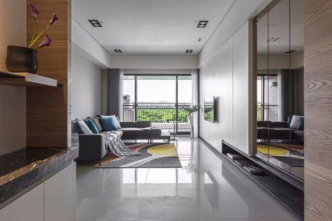 梅江公馆160平现代风格装修三居室效果图
