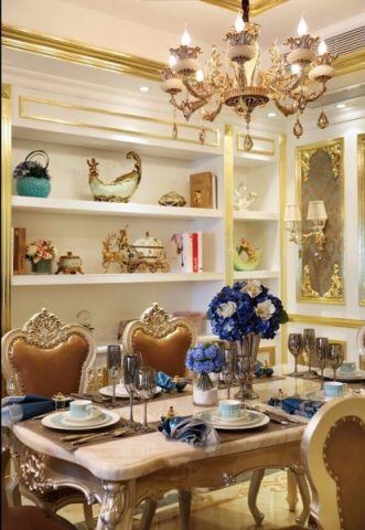 餐厅餐桌欧式风格装修图片
