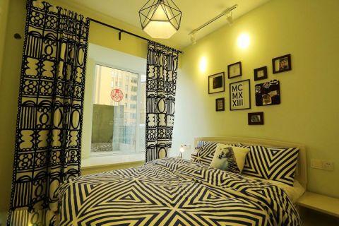 卧室飘窗混搭风格装饰效果图