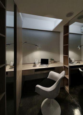 书房背景墙现代风格装修效果图