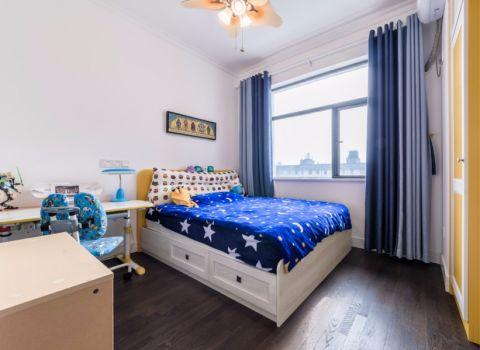儿童房窗帘美式风格装饰效果图