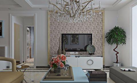 80平方北欧风格二居室装修效果图