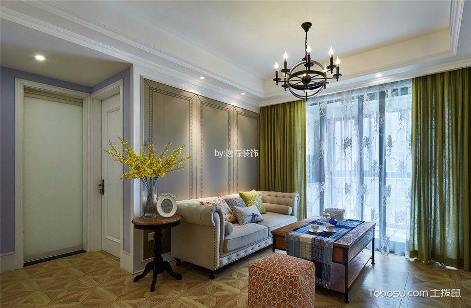 12万预算100平米三室两厅装修效果图