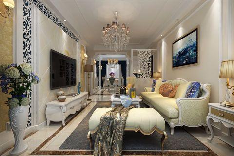 8.8万预算100平米三室两厅装修效果图