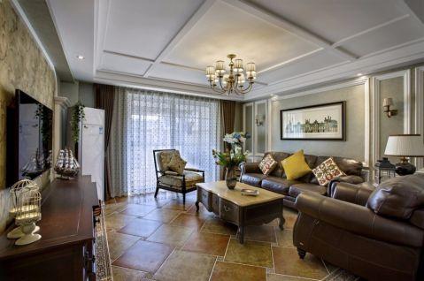 14万预算120平米三室两厅装修效果图