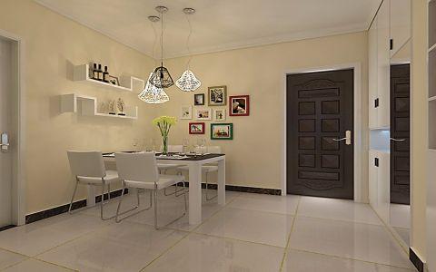 6.5万预算108平米两室两厅装修效果图