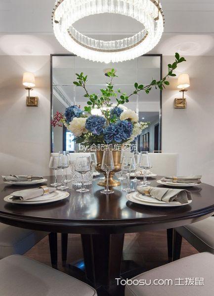 餐厅白色细节现代风格装修图片