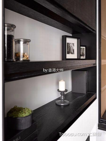 卧室黑色细节现代简约风格装修图片