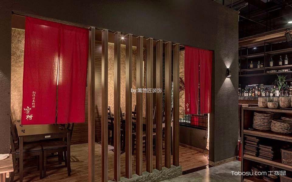 300平米日本料理店隔断设计图片