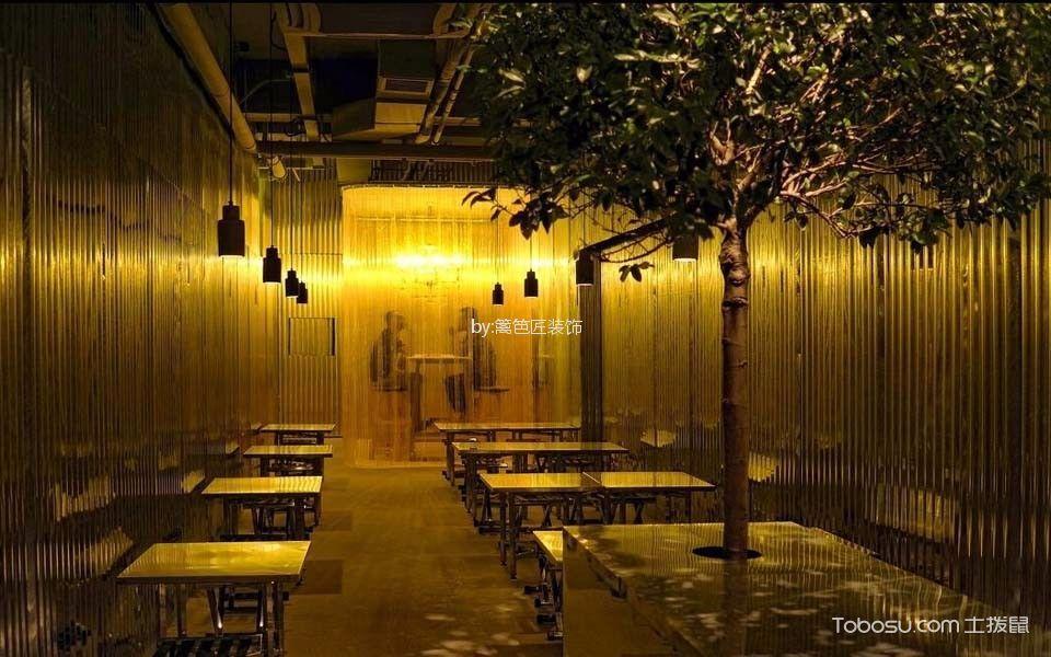 餐馆过道装修实景图片