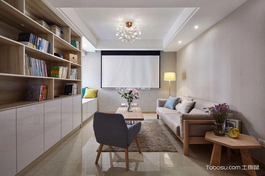 尚锦城106平两室两厅一卫日式MUJI实景图