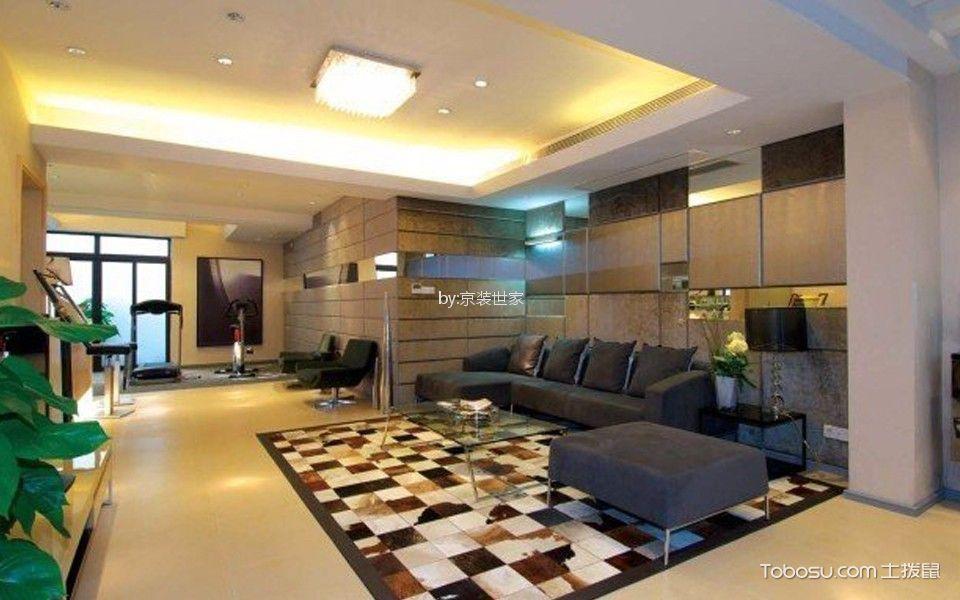 北京城建·琨廷125平三居室简欧风格效果图