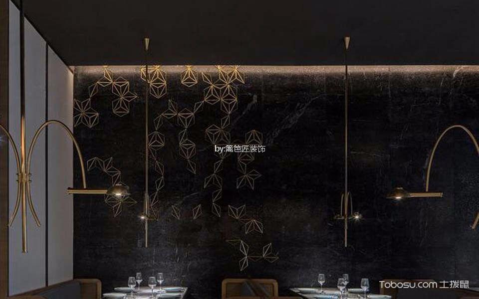 川式餐厅背景墙装潢效果图