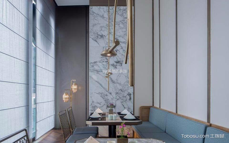 川式餐厅雅座装修实景图