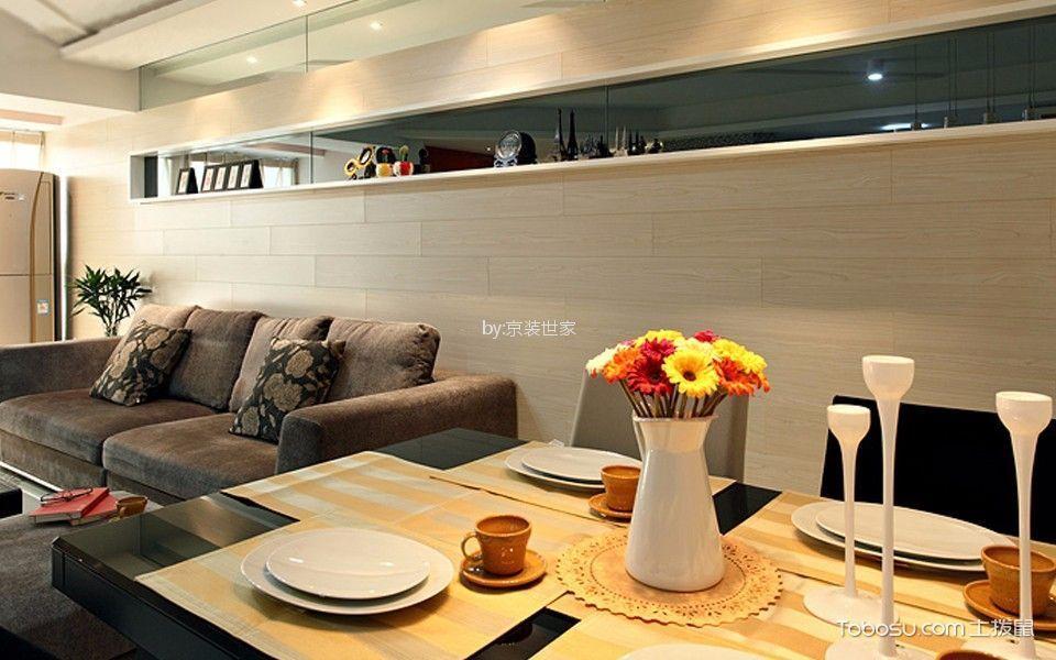 餐厅白色细节现代简约风格装修设计图片