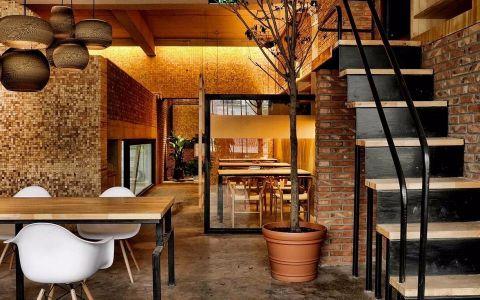 120平米咖啡厅装修效果图