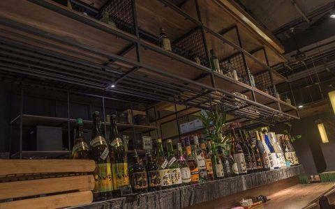 300平米日本料理店装修效果图