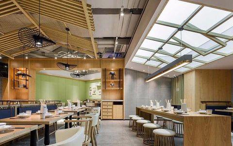 串串店现代风格餐馆装修效果图
