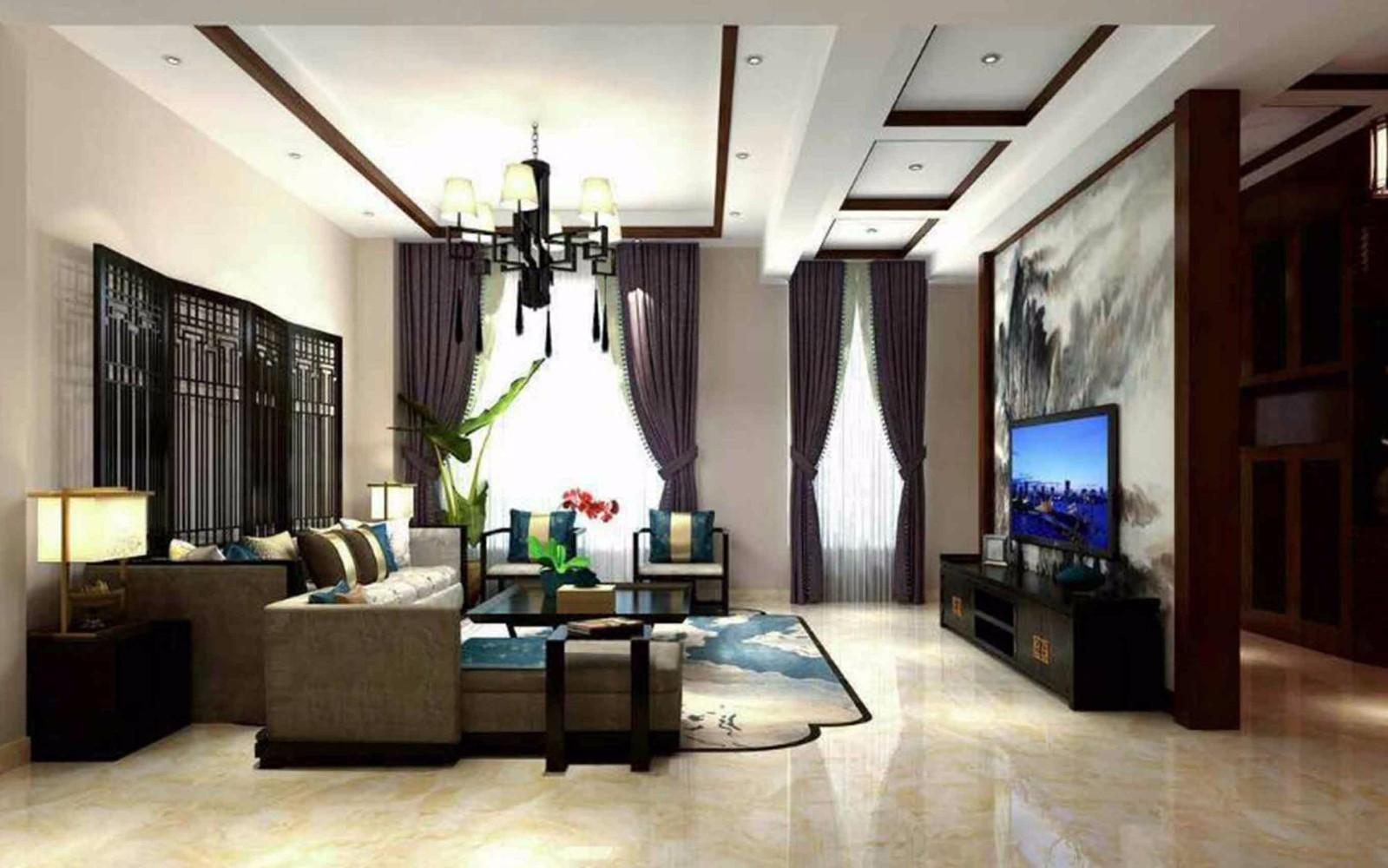 3室3卫2厅290平米新中式风格