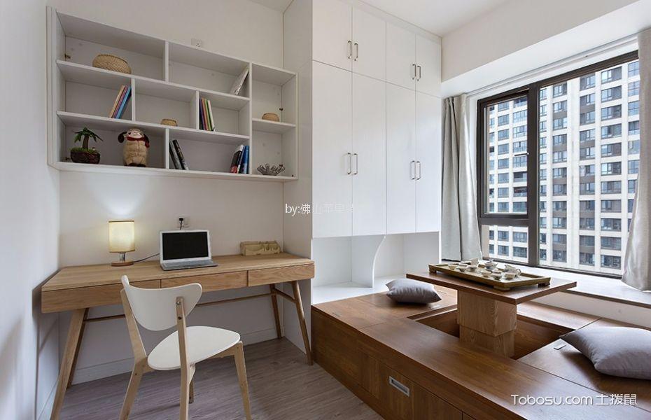 10万预算110平米两室两厅装修效果图