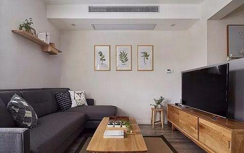 6.5万预算120平米两室两厅装修效果图