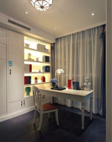 书房窗帘地中海风格装饰效果图