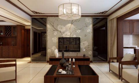 新中式风格套房装修实景图