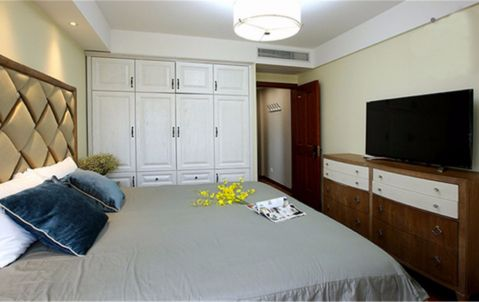 卧室衣柜美式风格装潢设计图片