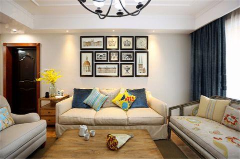 客厅照片墙新中式风格装修效果图