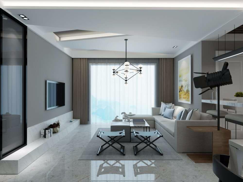 2室2卫2厅现代风格