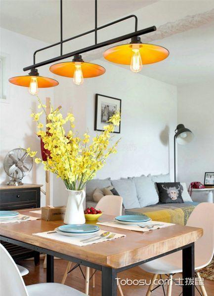客厅米色细节北欧风格装饰效果图