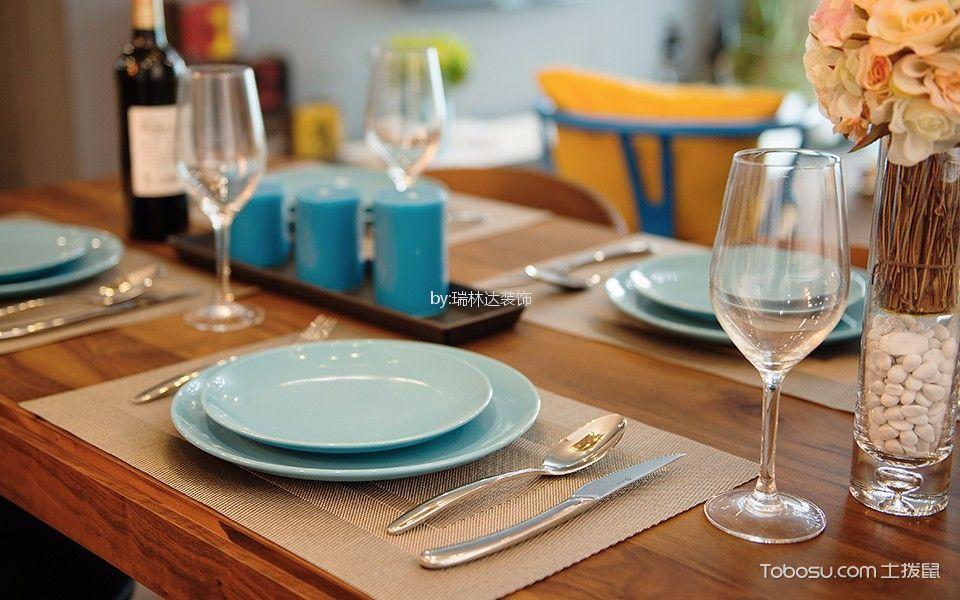 餐厅彩色细节混搭风格装修效果图