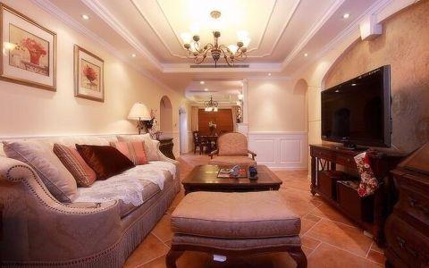 8.5万预算100平米三室两厅装修效果图