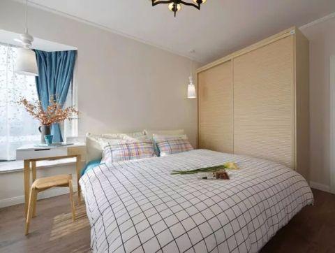 卧室床简单风格装饰设计图片