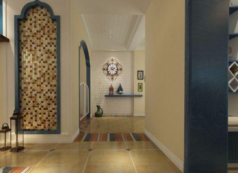 客厅走廊地中海风格装修效果图