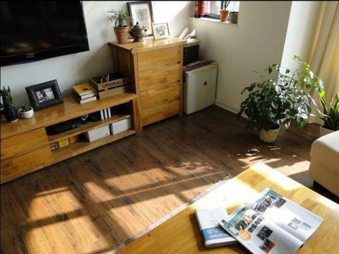 客厅走廊田园风格装潢图片