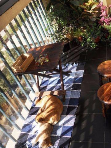 阳台窗台田园风格装潢效果图