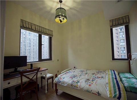 卧室窗台美式风格装修设计图片