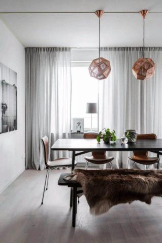 客厅吧台北欧风格装潢图片